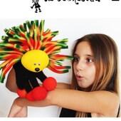 Erizo, Titere de guante con sus puas tricolor  #erizo #marioneta #titeresdeguante  #puppets