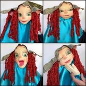 Un hada muy expresiva🧚🏼♀️  #puppet #marioneta #hadamagica #titeres #marionetasgestuales