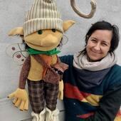Duende Cebollin!, de los personajes más antiguos de nuestra web, sobrevivió hasta del Covid!! #duendeinstagram #puppets #marionetas #duende #titerededuende