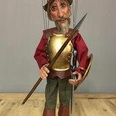 Don Quijote, tu también cuelgas de un hilo!! 🧶#titeres #marionetas #jugetes #muñecos #me #world #art #artist #artistsoninstagram #artwork #hechoamano #arte #artesanal