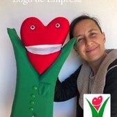 Titere del Logo de Fundacion Cudeca #fundacioncudeca #marionetas
