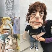 Proceso constructivo para replicas en marionetas #marionetas #puppet #mickjagger