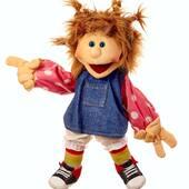 Ilselotte de  nuestra coleccion Living Puppets con manipulacion deboca y guantes en las manos  #livingpuppets #marionetas #titeres #puppetshow #ilselotte