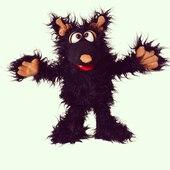 Muffi el monstruo sin maldad #livingpuppets  #marionetas #monstruos #sinmaldad
