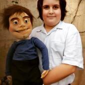 Al fin llegó Javier con su Amigo Carlitos!, dicen que tienen el mismo ADN, Réplica en Titeres de manipulación directa #love #marioneta #titere #replicaentitere #puppetshow