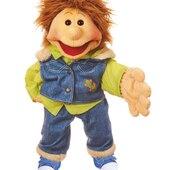 Gerrit, personajes humanos, 65cm con movimiento de boca y guantes en las manos #livingpuppets