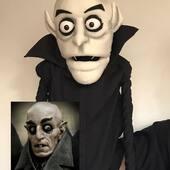 Nosferatu tambien estara en Halloween !!, copia en titere para canal de youtube #nosferatu #halloween  #marionetas #puppetshow