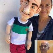 Replica en titere , esta vez le toco a Fco Miguel!! #marionetas #masterofpuppets #marionettes