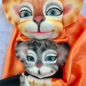 Abrazo de Gato!❣️🐯 #marionetas #titeresgomaespuma #gatosdeinstagram