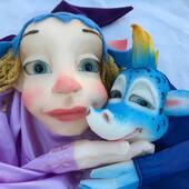 La Princesa y su Dragón 🐉  #tiktok #titeres #marionetas #art #me #duo #arte #artesanal #hechoamano #quedateencasa #coronavirus #españa #artistsoninstagram #artwork