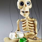 Baby Bonnie Skeleton💀   #titeres #marionetas #art #arte #artesania #me #love #ferias #muñecos #animales #teatro #biodegradable #gestuales #cabezones #carnaval #españa #argentina #artesano #jugetes #online #instagood #petlovers #inspiration