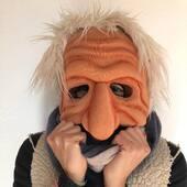 Mascara La Comedia del Arte para Mai Tant Teatre  #mascaras #lacomediadelarte #puppetsofinstagram  #marionetas
